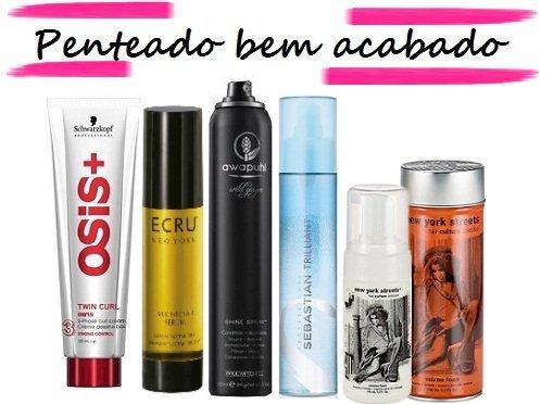 Prêmio Nova de beleza 2011: melhores cosméticos de cabelos - Produtos para penteados