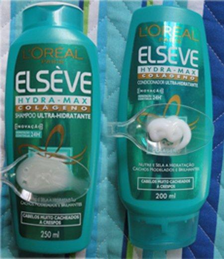 d96f522e7 Elsève Hydra-Max Colágeno  produtos para cabelo cacheado