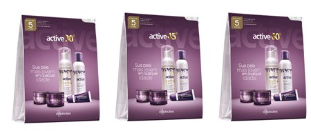 Novos Active Kit Antissinais do Boticário