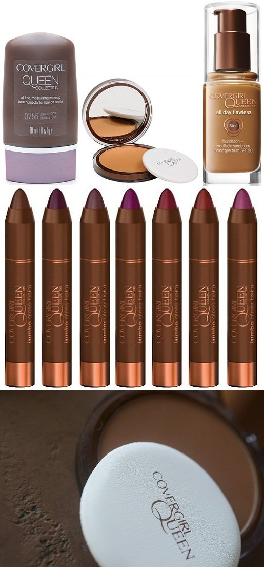 Maquiagem pele negra - CoverGirl Queen Latifah